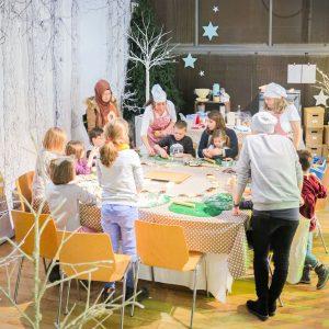 Bastelwerkstatt, Kinderkreativevents, Kinderveranstaltung, Kinderschminken, Tuschetiger, Kinderschminken Hamburg,